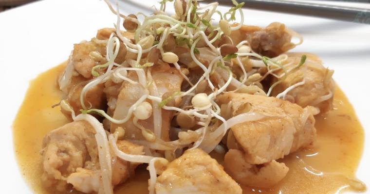 Bocconcini di pollo in salsa Shiro
