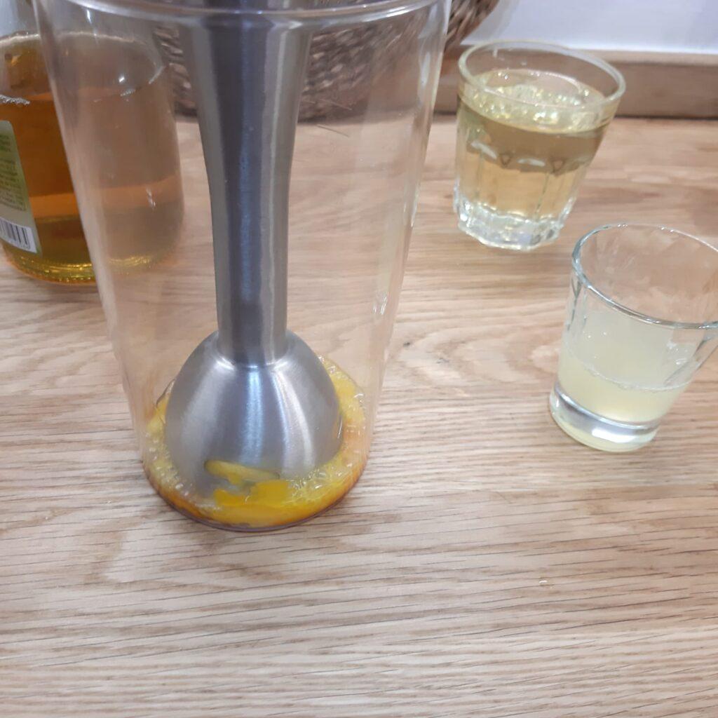 maionese fatta in casa con il pimer