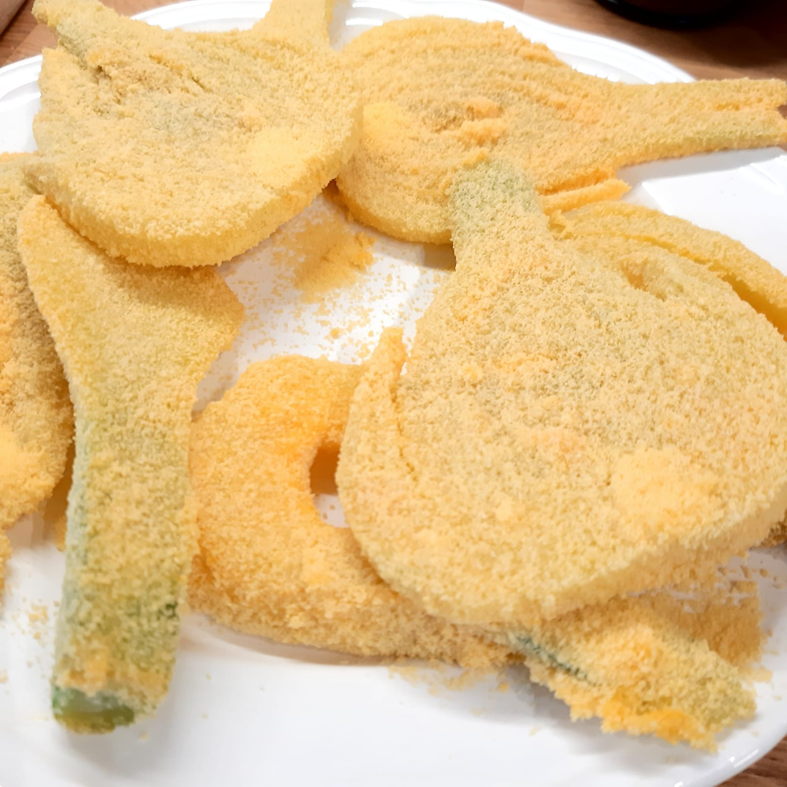 finocchi fritti panati