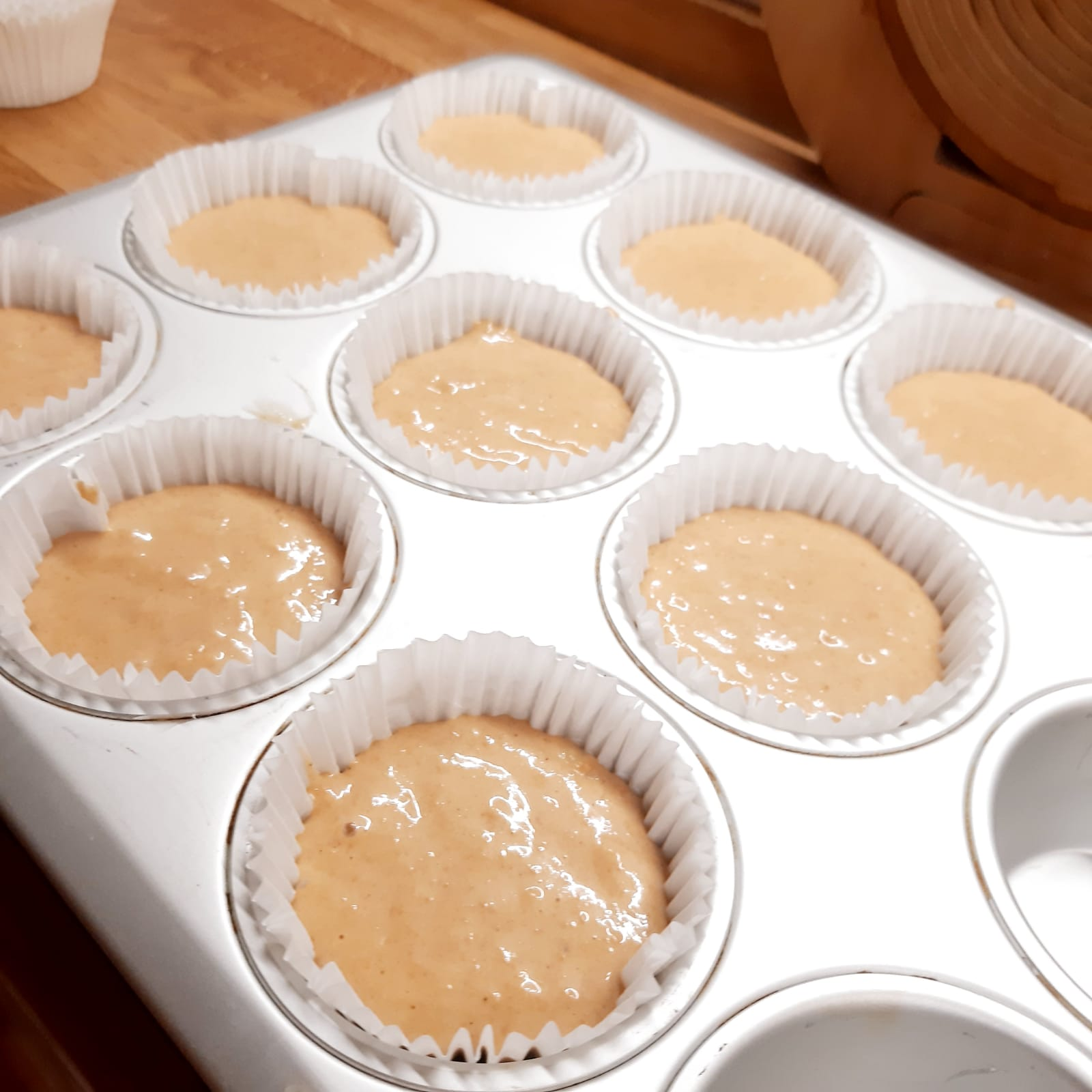 muffin alle mele frullate