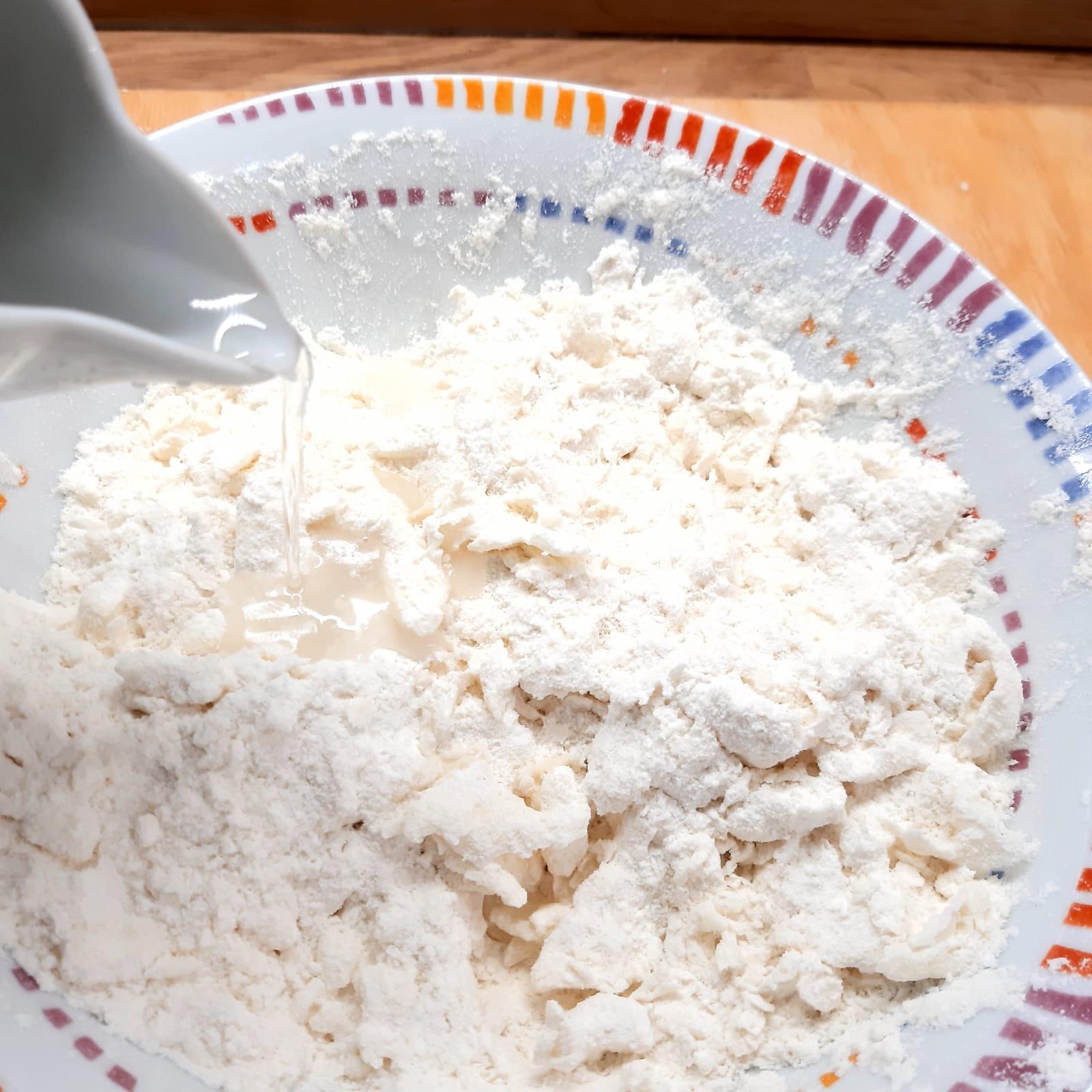 conchiglie di pasta brisée da farcire