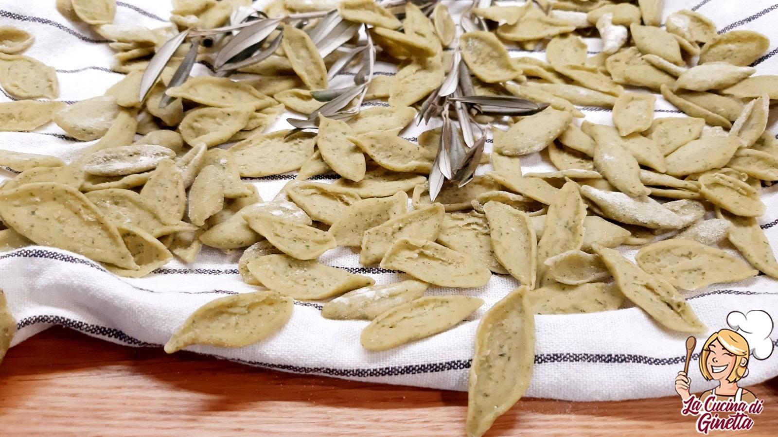 pasta foglie di ulivo