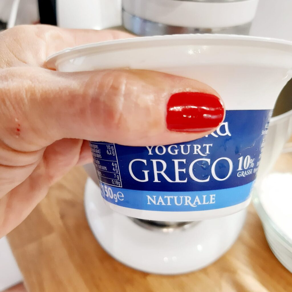 mini plumcake con yogurt greco