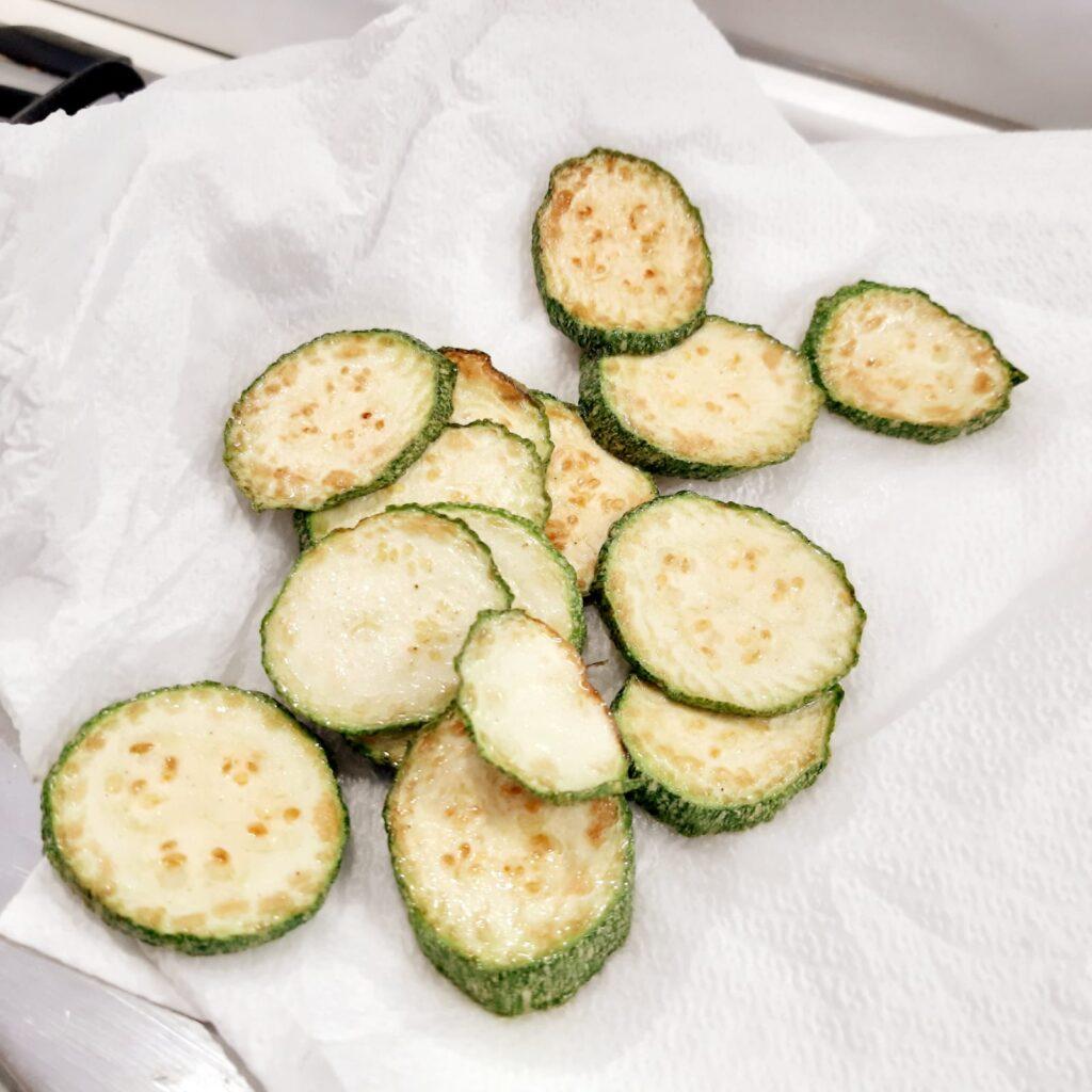 zucchine fritte e marinate