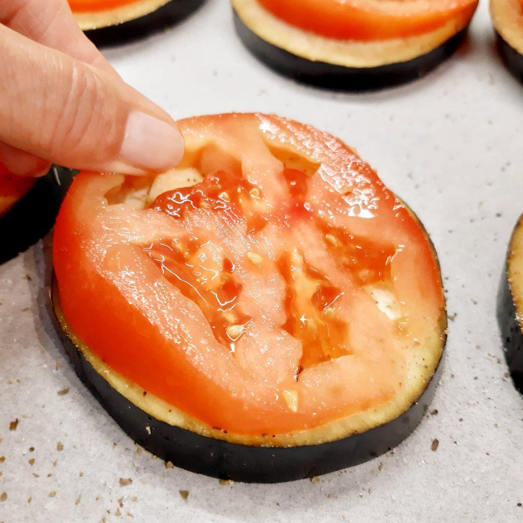 melanzane e pomodori ricordi d'estate