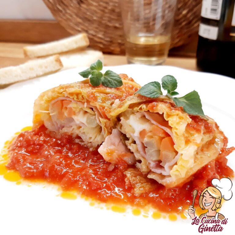 Un bel piatto unico? Peperoni ripieni con patate scamorza e prosciutto cotto.